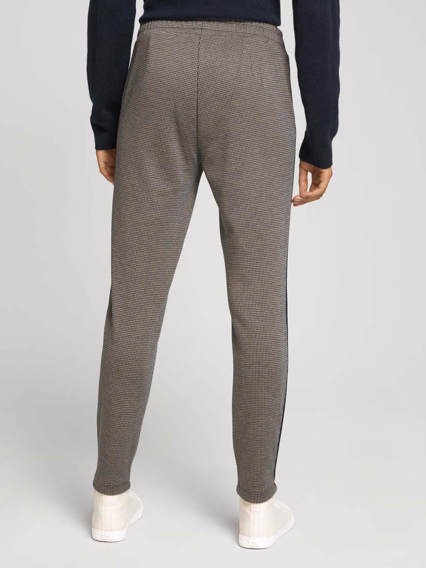 Kariraste ohlapne hlače z vrvico - Bež_1701779