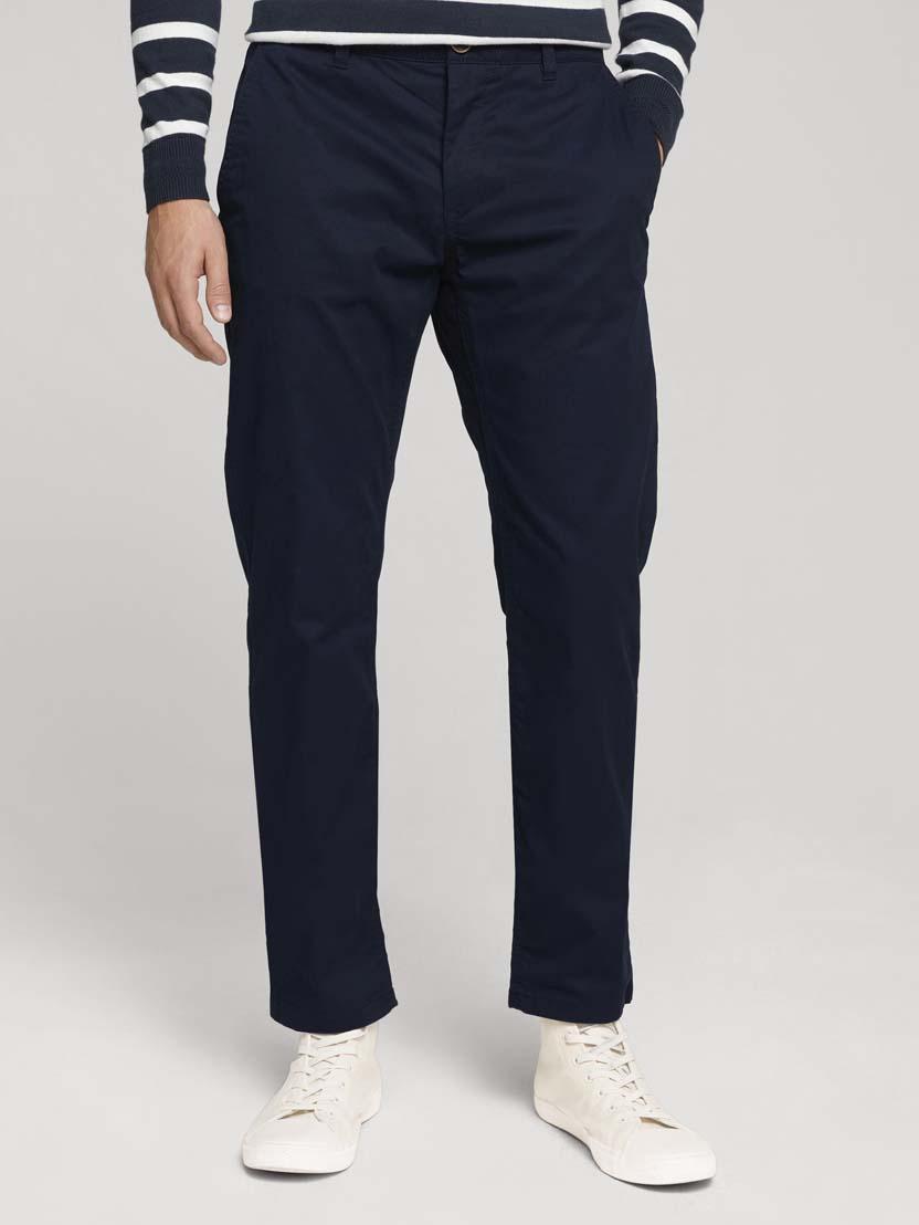 Klasične chino hlače Travis - Plava