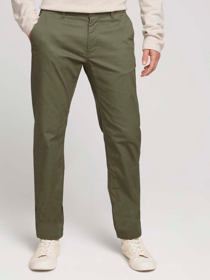 Klasične chino hlače Travis - Zelena