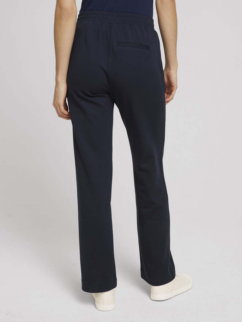 Klasične ohlapne hlače - Modra_830744