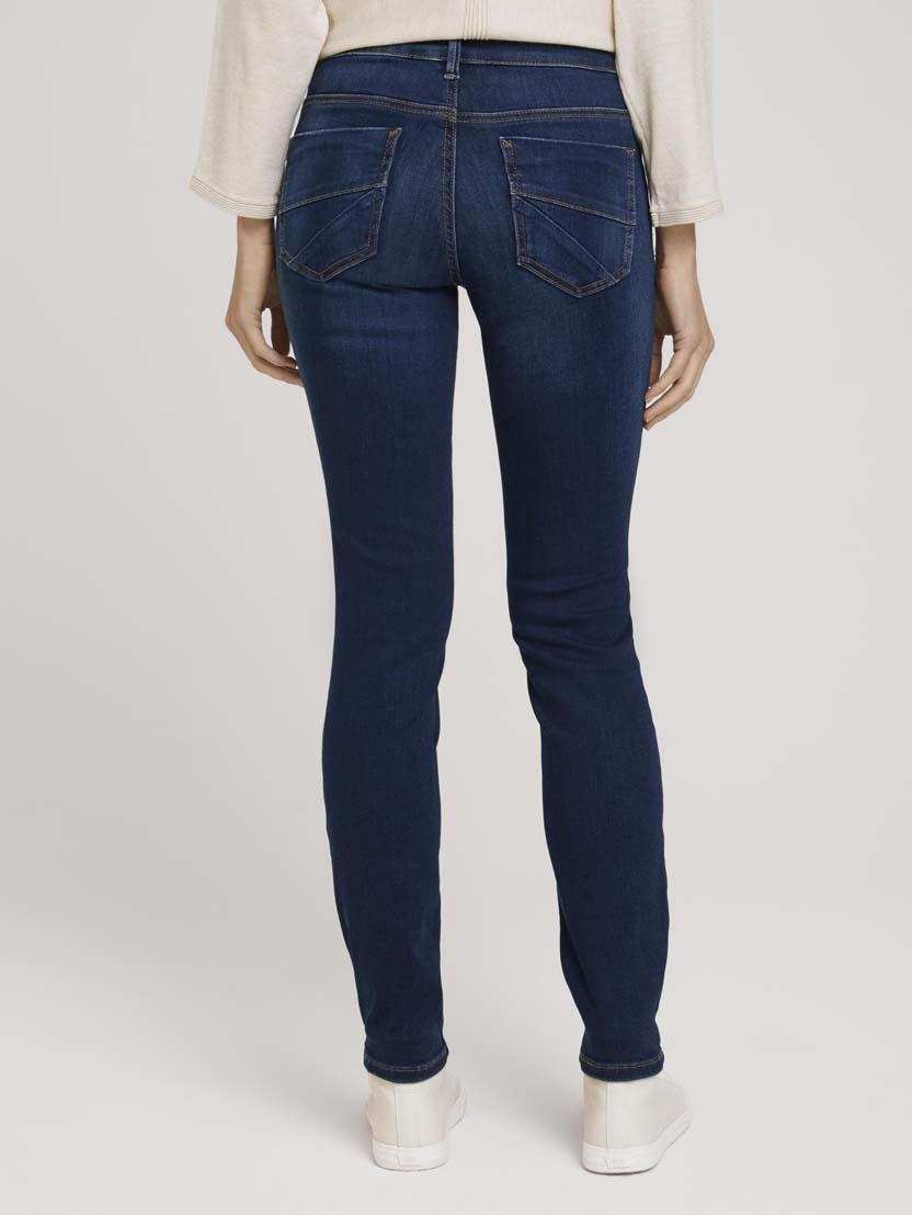 Uske rastezljive traper hlače Alexa - Plava_7560418