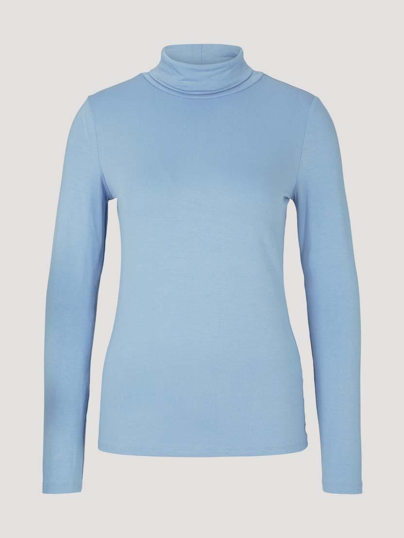 Puli majica z dolgimi rokavi - Modra