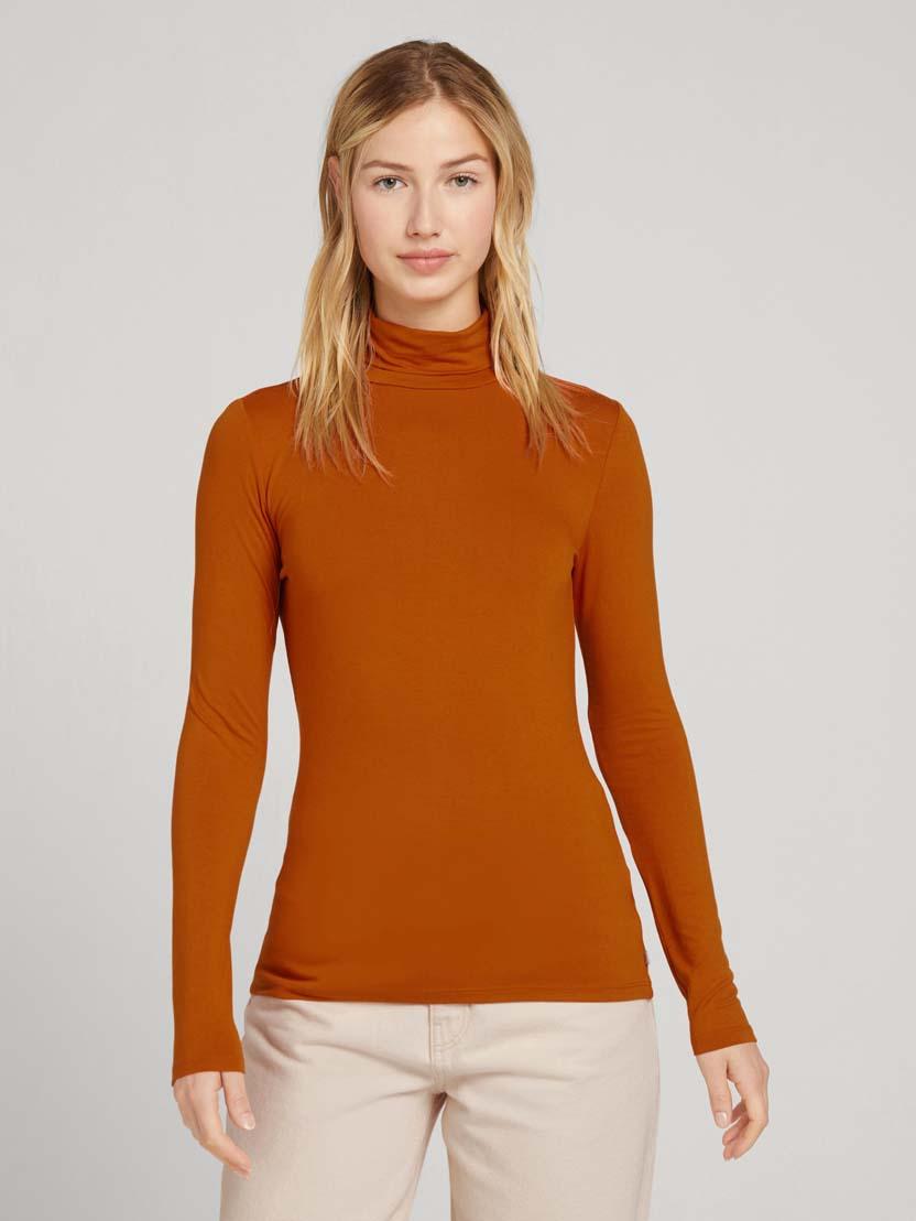 Puli majica z dolgimi rokavi - Oranžna