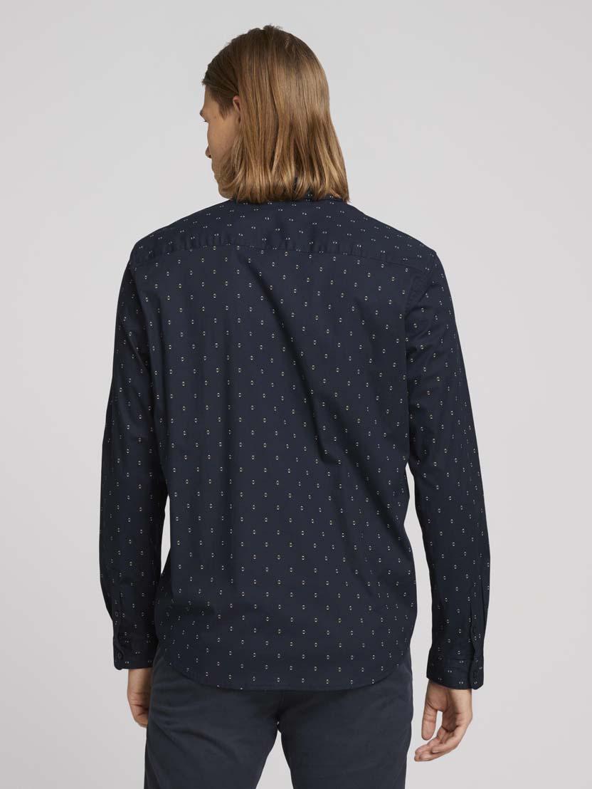 Raztegljiva srajca z dolgimi rokavi in potiskom - Vzorec/večbarvna_7098771