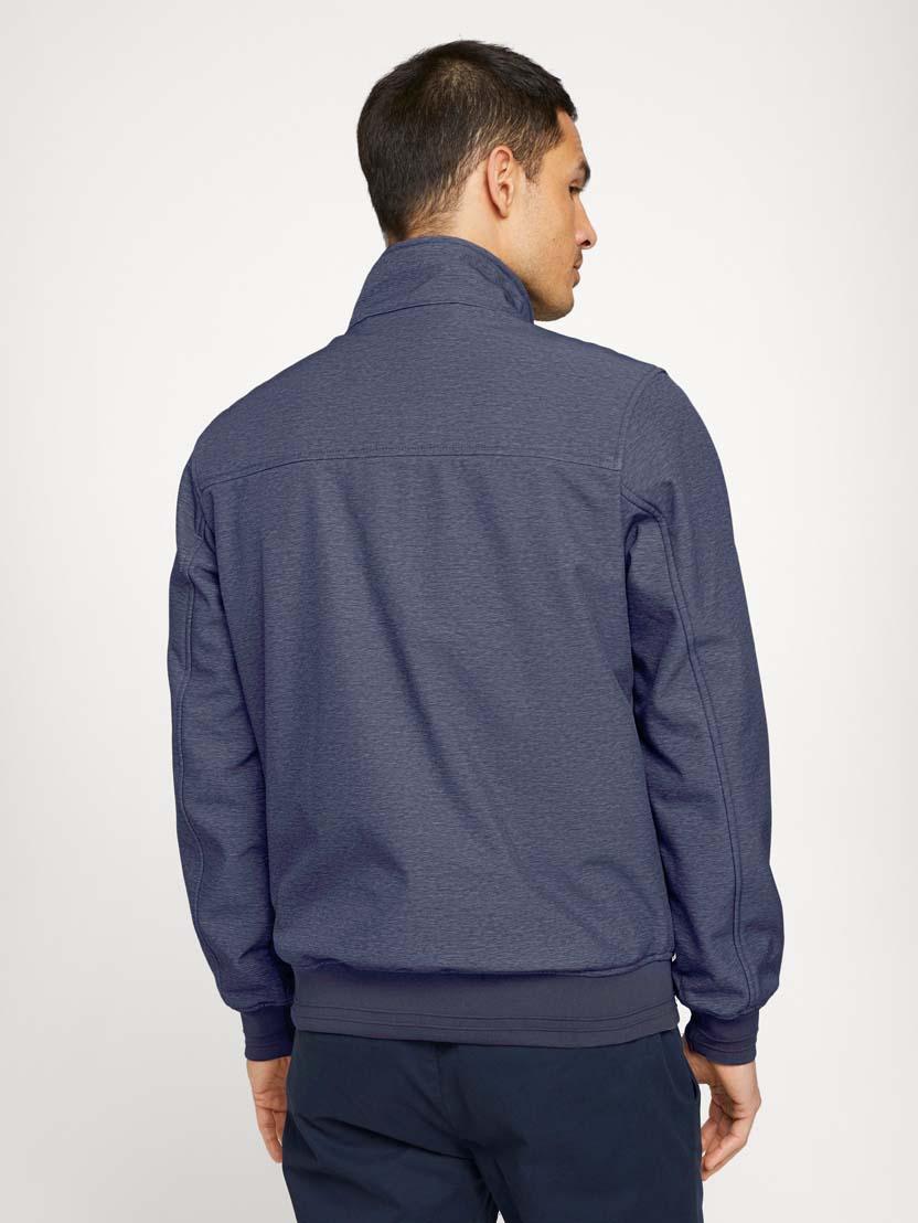 Softshell jakna s stoječim ovratnikom - Modra_9829561